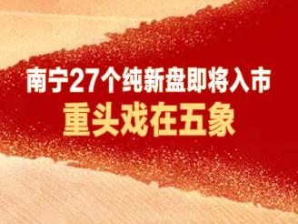 南宁27个纯新盘即将入市!